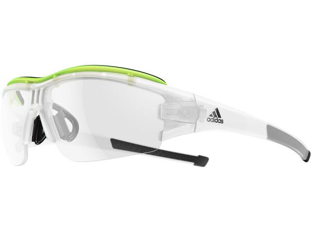 adidas Evil Eye Halfrim Pro Pyöräilylasit , keltainen/läpinäkyvä